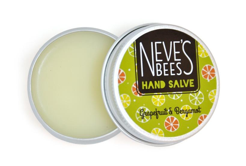 Neve's Bees Grapefruit & Bergamot Hand Salve (Open)