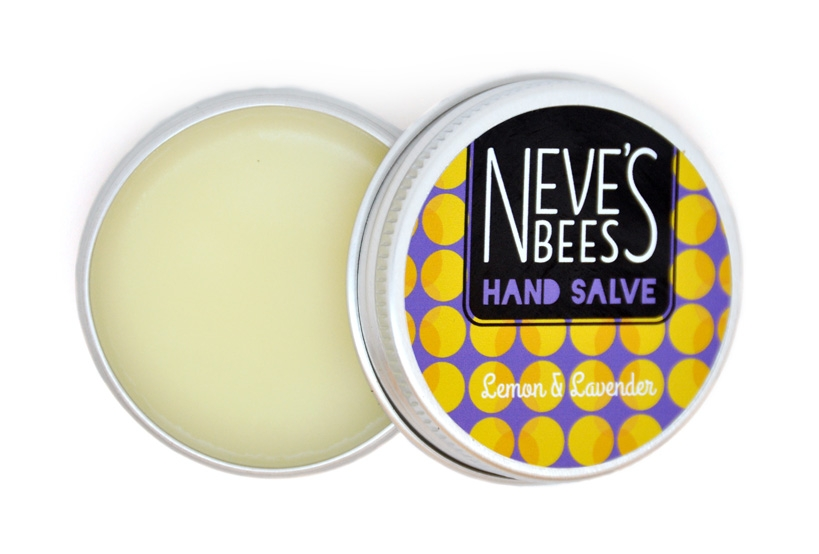 Neve's Bees Lemon & Lavender Hand Salve - an excellent salve for chapped hands