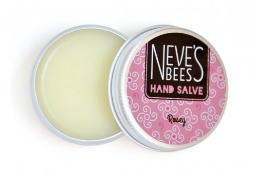 Neve's Bees Rosey Hand Salve - works well for dry hands
