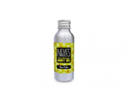 Bee Calm body oil from Neve's Bees. Refill pack