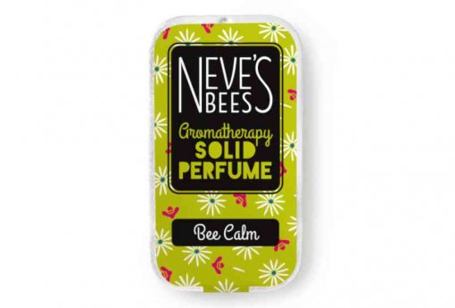 Bee Calm Solid Perfume from Neve's Bees (closed tin)