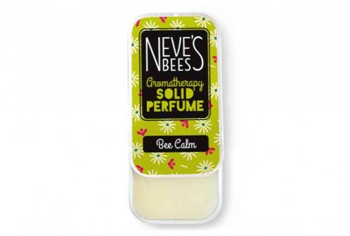Bee Calm Solid Perfume from Neve's Bees (open tin)