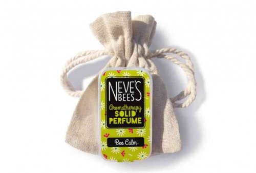 Bee Calm Solid Perfume with bag from Neve's Bees