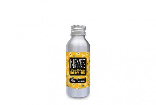 Bee Focused body oil from Neve's Bees. Refill pack