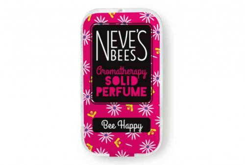 Bee Happy Solid Perfume from Neve's Bees (closed tin)