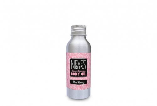 Bee Rosey body oil from Neve's Bees. Refill pack