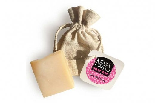 Goat's Milk and Honey handmade soap bar from Neve's Bees