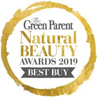 The Green Parent Natural Beauty Award 2019 Gold