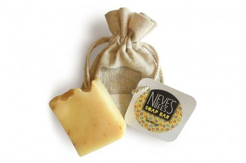 Lemonizer handmade soap bar from Neve's Bees
