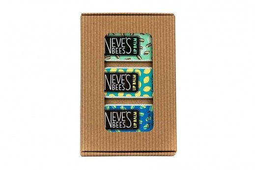 Don't Bee Blue Lip Balm Gift Pack from Neve's Bees