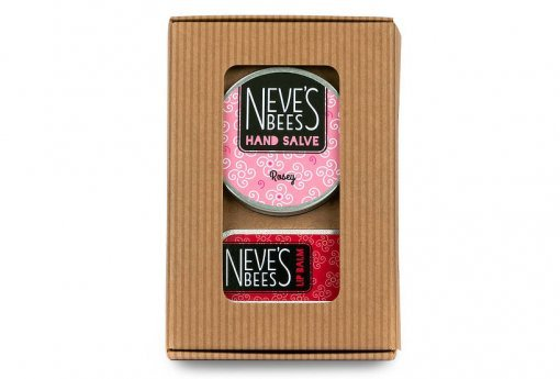 Everything Looks Rosey eco-friendly Gift Pack from Neve's Bees