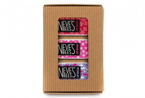 Flower Lovers Lip Balm Gift Set - Neve's Bees