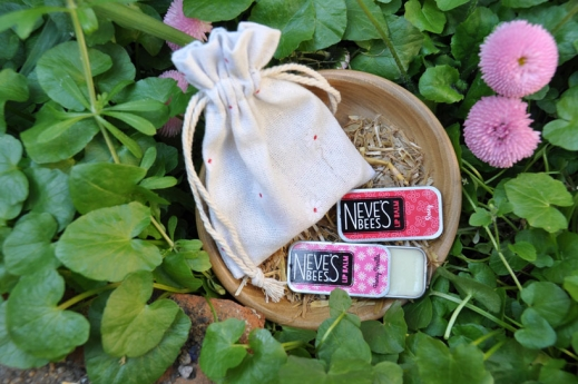 Neve's Bees Flower Lovers' Lip Balm Gift Bag