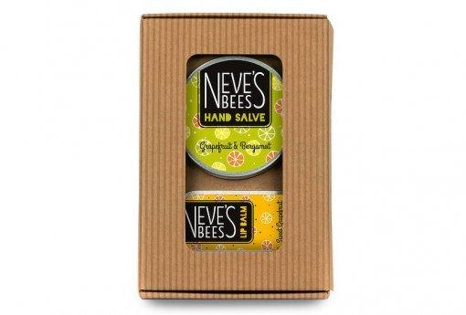 Grapefuit Favourites natural beauty gift set - Neve's Bees