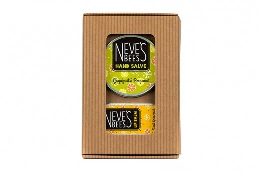 Grapefuit Favourites natural beauty gift set - Neve's Bees