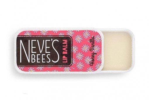 Neve's Bees Honey Vanilla Lip Balm - good for peeling lips