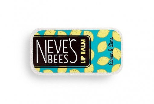 Neve's Bees Lemon and Lime Lip Balm - perfect for chapped lips