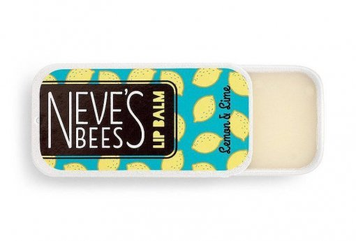 Neve's Bees Lemon and Lime Lip Balm - great for chapped lips