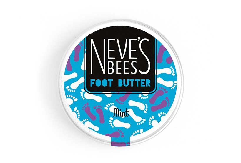 Neve's Bees Intensive Peppermint Foot Butter