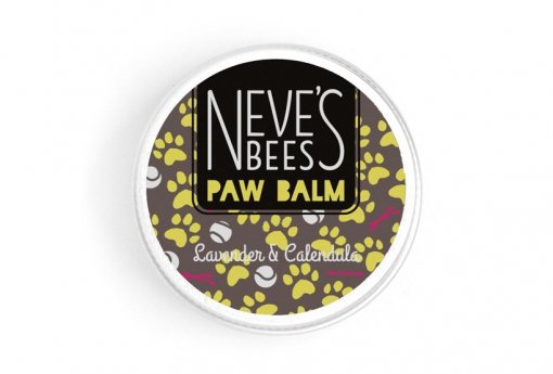 Paw Balm Lavander and Chamomile. Great for cracked dog paws.Neve's Bees