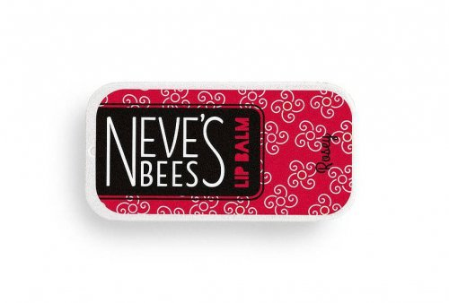 Neve's Bees Rosey Lip Balm - really good for dry lips
