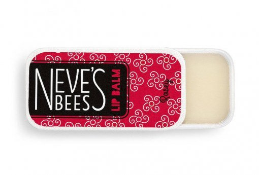 Neve's Bees Rosey Lip Balm - perfect for dry lips