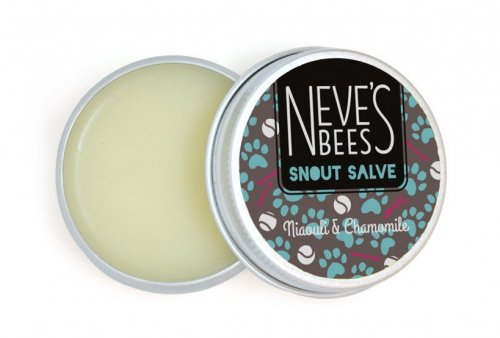Neves Bees Snout Salve - Niaouli and Chamomile. An excellent dog nose balm