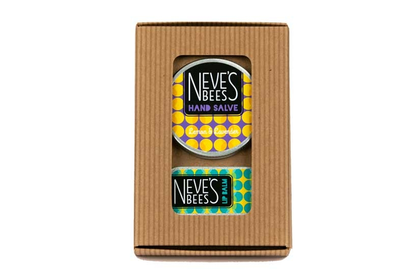 The Original Gift Pack from Neve's Bees. An eco gift!