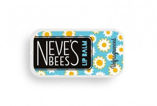 Neve's Bees Unfragranced Lip Balm - great for cracked lips