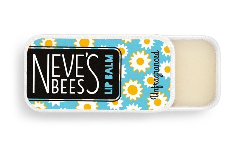 Neve's Bees Unfragranced Lip Balm - perfect for cracked lips