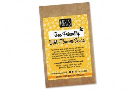 Bee friendly wildflower seeds from Neve's Bees